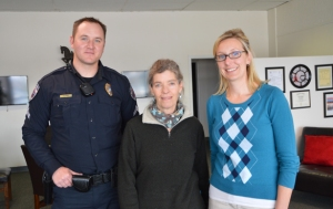 James Keane, LAPD, Ellen Morris-Bond, Self Help Inc., Kristy Ortega, United Way of NNM.