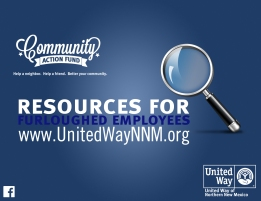 Webpage established to publish resources available to furloughed workers.