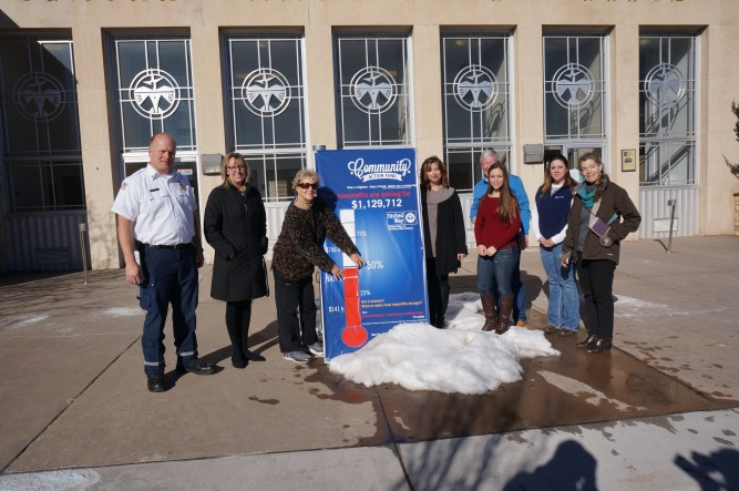 Community Partners Join UW to Raise Thermometer